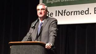 Holcomb Happy To Take Time With Agenda