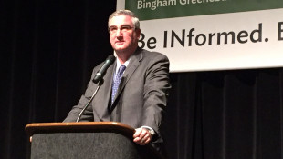 Holcomb Silent On Hill Allegations Since Returning Home To Indiana