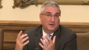 Holcomb Says No Choice But To Call For Hill's Resignation