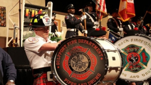 Thousands Of Firefighters In Downtown Indy For International Convention