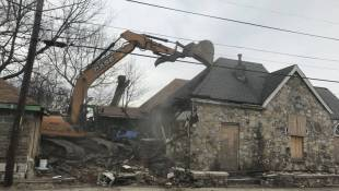 City Demolishes House Known For Prostitution In King Park Neighborhood