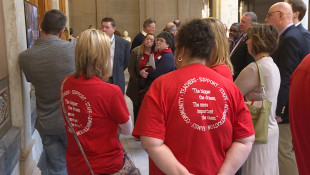 Teachers Ask For Better Pay, School Funding As Lawmakers Propose A New Cut