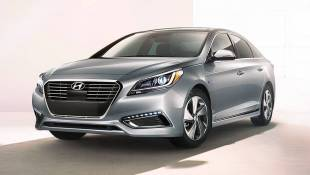 Sonata Hybrid Fortifies Hyundai's Electric Credentials