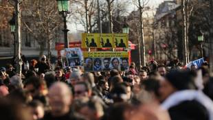 World Leaders Join Unity March In Paris