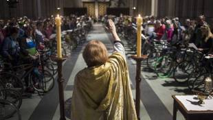 Blessed Be Thy Bicycle: New York Riders Roll Into Church