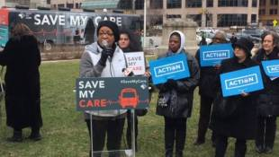 ACA Supporters Rally At Statehouse
