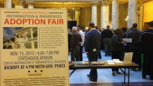State Launches 1st Adoption Fair