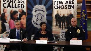 Nation's Top Cop Lauds IMPD for Officer Wellness Program