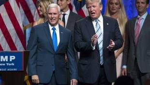 Trump Introduces Running Mate Pence To America