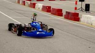 Where'd The Driver Go? Students Build, Race Fully Autonomous Karts At IMS