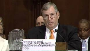 Ballard Testifies On Impact Of Federal Funds