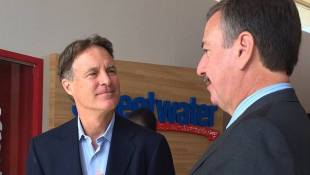 Bayh Begins Statewide Campaign Tour