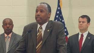 HUD Secretary Carson Visits Former East Chicago Housing Complex
