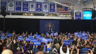 Sanders Talks Trade Policy At IPFW