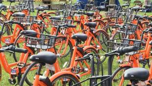 ISU Launches Solar Powered Bike Share Program