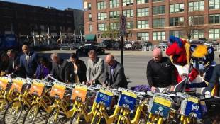Pacers Bikeshare Up And Running