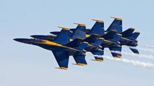 US Navy's Blue Angels Coming To Terre Haute Airport In 2018