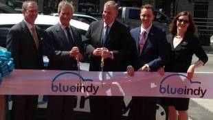 Another Fight Between Mayor And Council Over Electric Cars, This Time It's BlueIndy