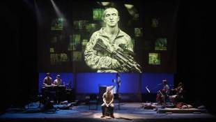 Veterans Voices Multitracked, Overdubbed, Amplified Through An Actor