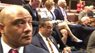 Carson Joins House Sit-In, Demanding Action on Gun Control