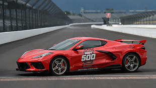 New Mid-Engined Corvette Stingray Will Pace This Year's Indianapolis 500