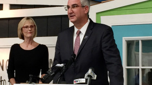 Holcomb, Crouch Give Virtual Convention Speeches That Follow Familiar Pattern