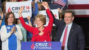 Ted Cruz Introduces Carly Fiorina As His Pick For Vice President