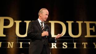 Purdue Board Boosts Possible Bonus Pay For Daniels