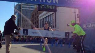 Indy's Jesse Davis Wins Largest Monumental Marathon Ever
