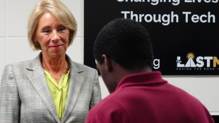 Ed Secretary Betsy DeVos: Coding Program At Indiana Youth Jail Offers 'Second Chance'