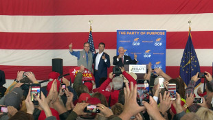 Donald Trump Jr. Rallies With Indiana GOP Candidates