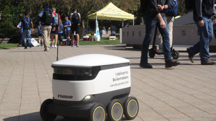 Autonomous Delivery Robots Arrive At Purdue