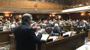 Committee Chair Blocks Vote On Redistricting Reform