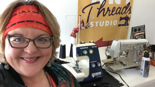 Indianapolis Fabric Artist Shifts To Sewing Essential Surgical Gowns