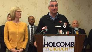 Holcomb Begins Transition, Puts Team Together