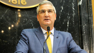 Holcomb Confident In Legal Authority To Issue Mask Mandate