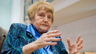 Human Rights, Forgiveness Advocate Eva Kor Receives State's Highest Humanitarian Award