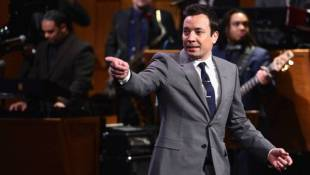 Jimmy Fallon, 'Your Host ... For Now,' Takes Over 'Tonight'