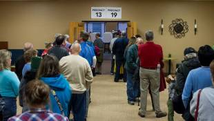 Absentee Ballots Slow Voting At Many Marion County Sites