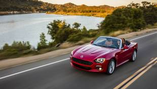 Fiat 124 Spider Sports A Long Hood
