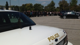 Indianapolis Gathers To Honor Officer Rod Bradway