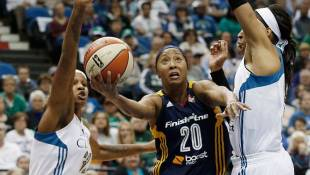 Gritty Indiana Fever Take Game 1 of WNBA Finals
