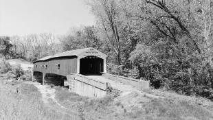 Parke County Covered Bridge Named National Historic Landmark
