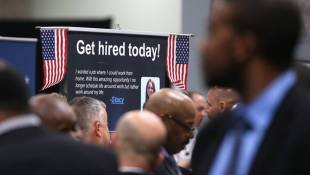Jobless Claims Dip; Will Unemployment Rate Do That Too?