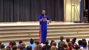 Globetrotter Discusses ABCs Of Bullying