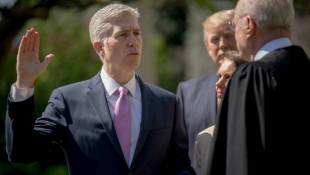 Trump Cheers Elevation Of Gorsuch To Supreme Court