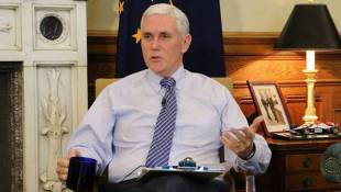 Pence: Legislative Session Is 'Productive' So Far, Agenda Largely Intact