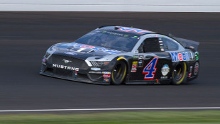 Harvick Dominates In Second Brickyard Win