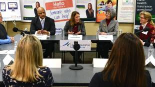Secretary Burwell Visits Indy During ACA Enrollment