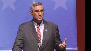 Holcomb Distances Himself From Pence On Syrian Refugees In Indiana